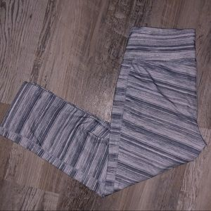 Gray & White Old Navy workout pants | size : M